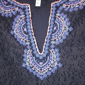 Vineyard Vines Starfish Jacquard Tunic Dress